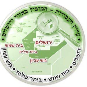 ערוץ העבודות באזור ירושלים